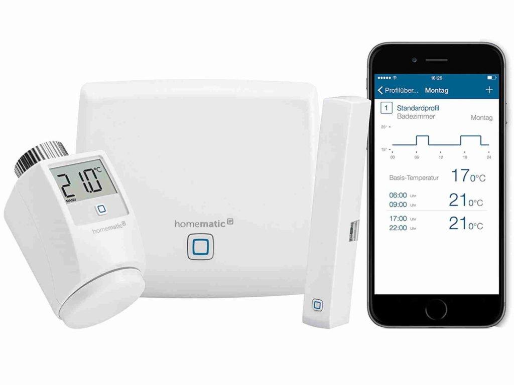 Homematic Starter-Set Raumklima | Smart Home Thermostat