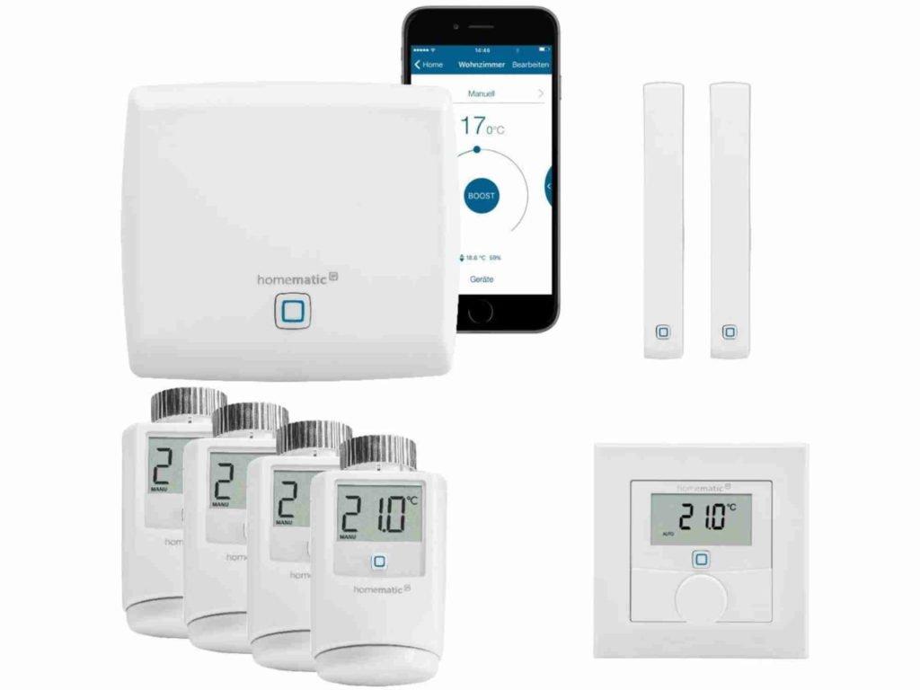 Homematic Starter-Set Heizen gross | Smart Home Thermostat