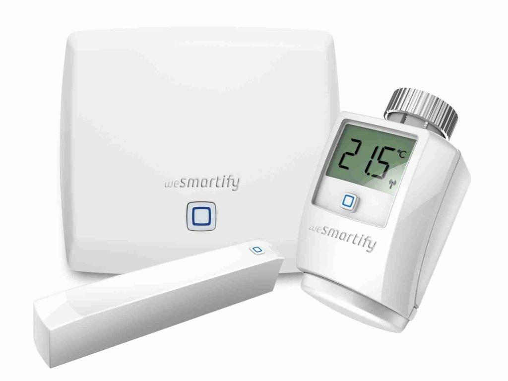 wesmartify Starter-Set Heizung | Smart Home Thermostat