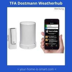 Smart Home Wetterstation der Firma TFA Dorstmann