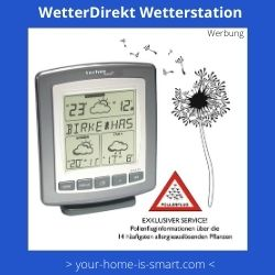 Satelliten Wetterstation von WetterDirekt