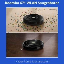wlan saugroboter roomba 671 von iRobot