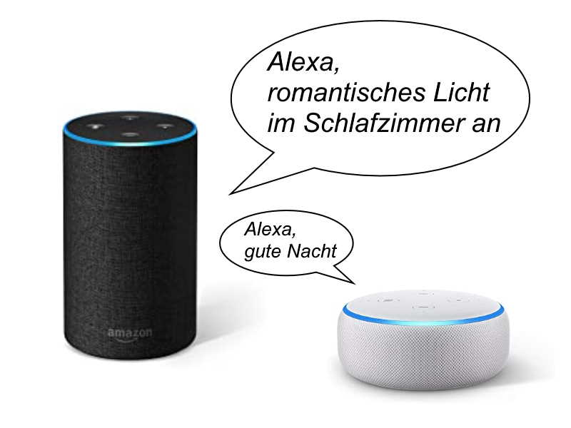 Amazon Echo / Alexa in der Smart Home Lichtsteuerung