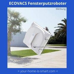 Fensterputzroroboter der Firma Ecovacs
