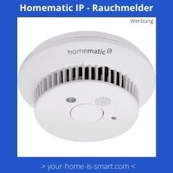 Smart Home Rauchmelder der Firma Homematic