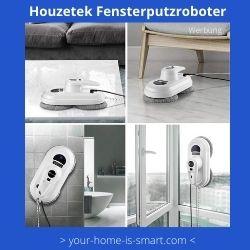 Fensterputzroboter der Firma Houzetek