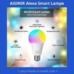 Smart Home Leuchtkörper mit Sprach-und Appsteuerung