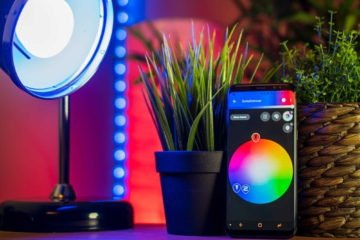 Smart Home Lichtsystem, Smart Home Lampen, Smart Home Leuchten - Steuerung per App