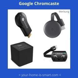 Google Chromcast – Chromcast 3 - Chromcast USB Stick - eBIRD WLAN Lautsprecher mit Chromcast – Chromcast 2