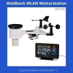 WLAN Wetterstation der Firma Waldbeck