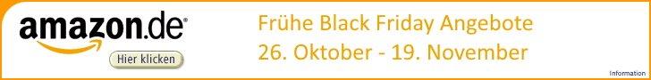 Amazon Black Friday Wochen