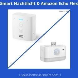 Nachtlicht mit Bewegungsmelder für Amazon Echo Flex
