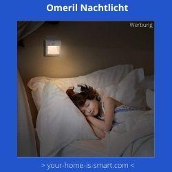 Omeril Nachtlicht mit Bewegungsmelder