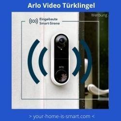 Arlo Video Smart Home Türklingel